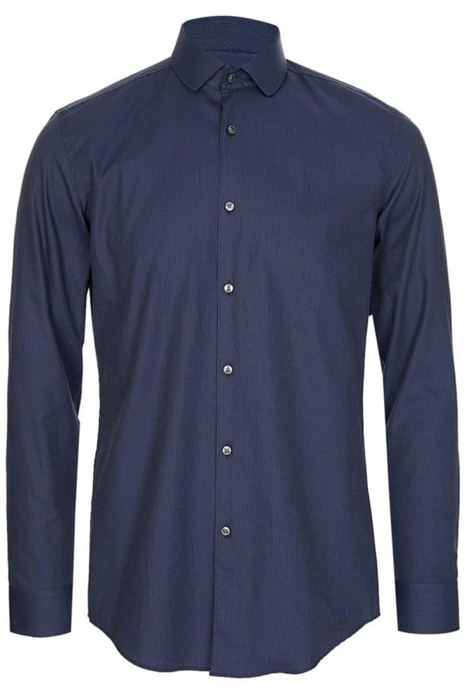 HUGO BOSS Joshua Shirt Navy