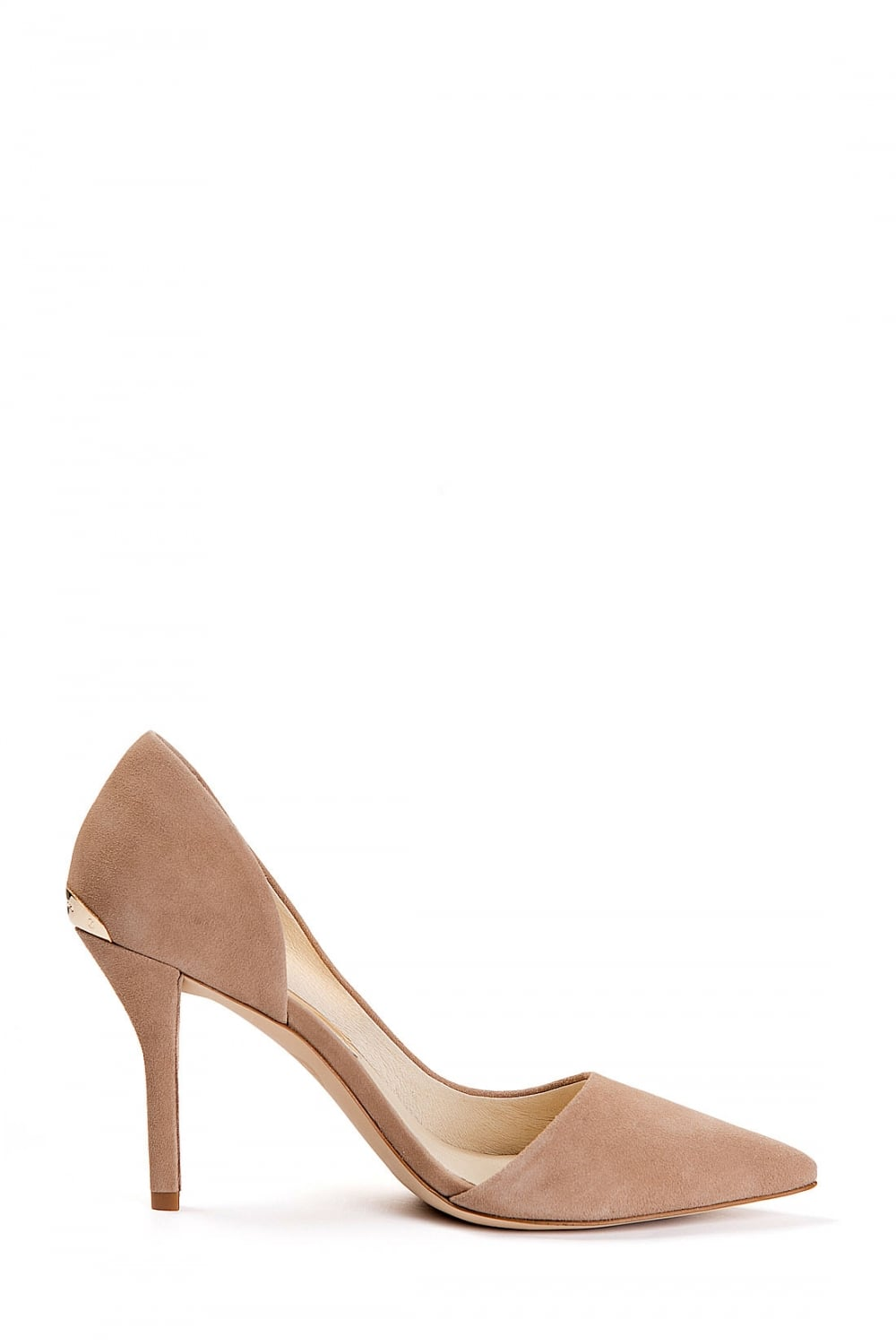 4e55f8365090 MICHAEL KORS Michael Kors Suede Julieta Pump Caramel - Clothing from ...