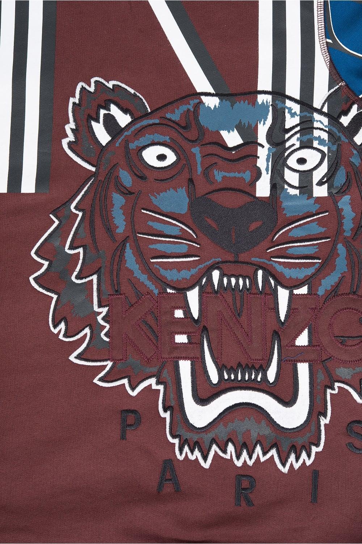 kenzo abstract print tiger sweatshirt