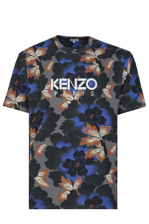 c93dd8976 KENZO Kenzo Paris Floral Print T-shirt - Uncategorised from Circle ...