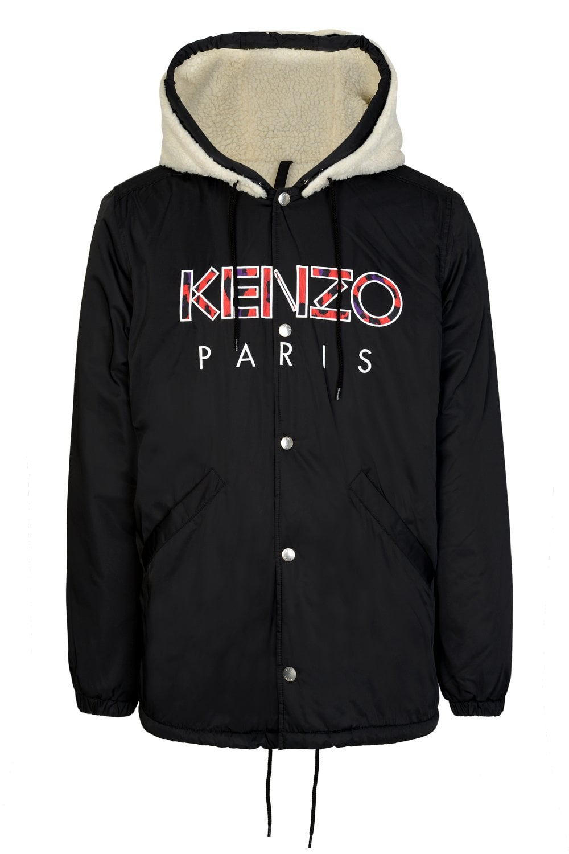 26fc1b519b4 KENZO Kenzo Paris Logo Parka - Clothing from Circle Fashion UK