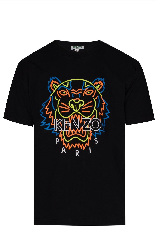 2e546a85325b KENZO Kenzo Paris Tiger Head T-shirt - Clothing from Circle Fashion UK