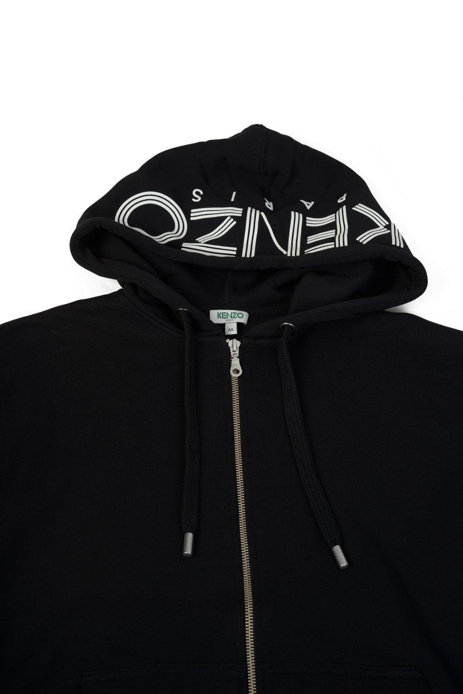 8927cf00 KENZO Kenzo Paris Zip-down Hooded Sweatshirt - Clothing from Circle ...