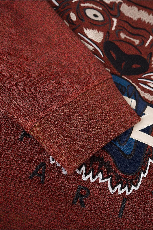 7884dd63 Kenzo Tiger Logo Sweatshirt Burgundy