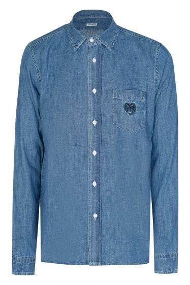 Kenzo Washed Denim Shirt
