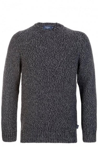 Paul Smith Knitted Charcoal Jumper