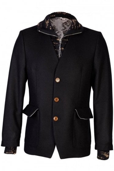Vivienne Westwood Cashmere Duffle Jacket and Woolen Insert