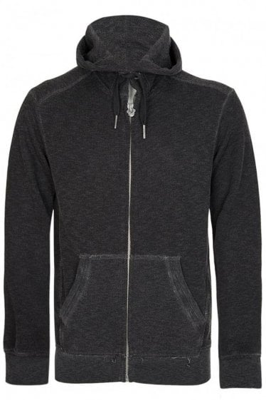 True Religion Hooded Sweatshirt Charcoal