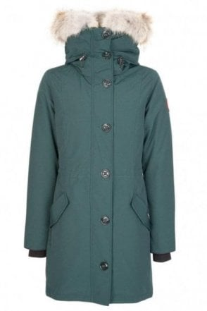 Canada Goose Womens Rossclaire Parka Green