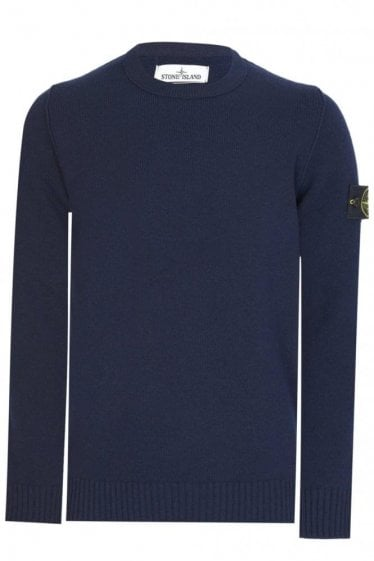 Lambswool Knit Navy