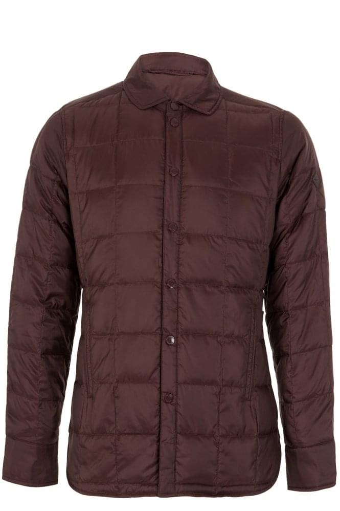 J LINDEBERG Lawler Down Filled Poly Jacket Burgundy
