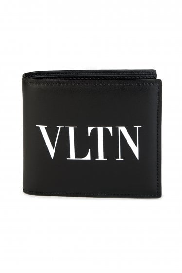 LEATHER VLTN BILLFOLD