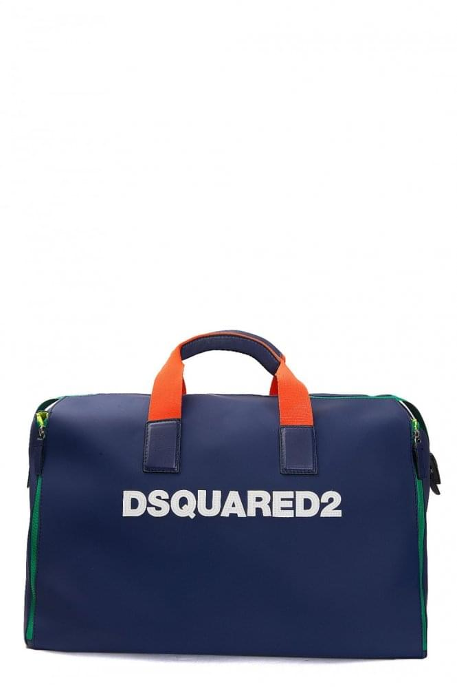 DSQUARED Rubber Logo Duffle Bag