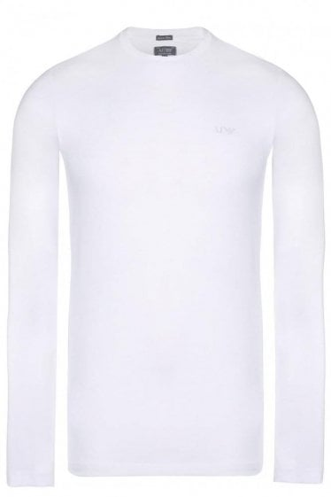 Armani Jeans Long Sleeved Logo Tshirt
