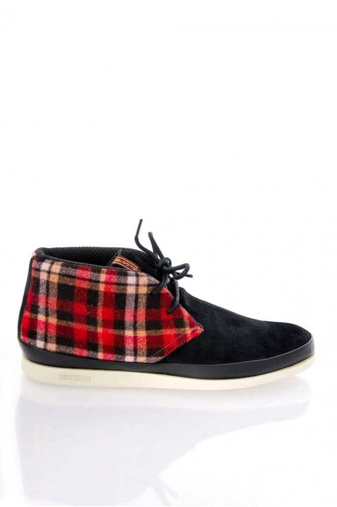 PAUL SMITH LOOMIS SUEDE+CHECK