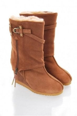 Love From Australia Nikita-zipped Cuff Boot