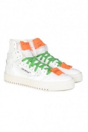 Low 3.0 High Top Sneakers White