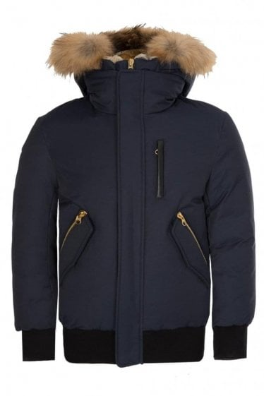 Mackage Dixon Bomber Jacket Navy