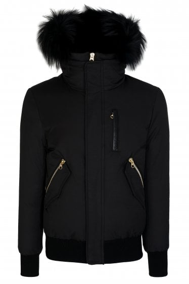 Mackage Fur Trim Hooded Coat