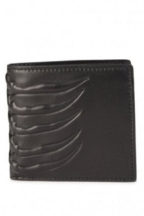 Mainline Alexander McQueen Card Holder 4 Slots Black