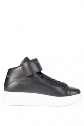 Mainline Alexander McQueen Oversized High-Top Sneakers Black