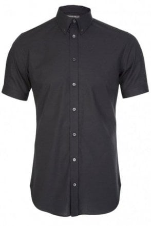 Mainline Alexander McQueen Stretch Shirt Black