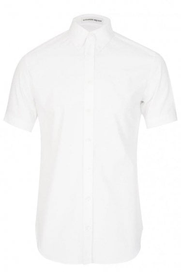Mainline Alexander McQueen Stretch Shirt White
