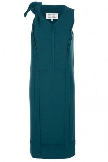 Maison Margiela Teal Bodycon Dress