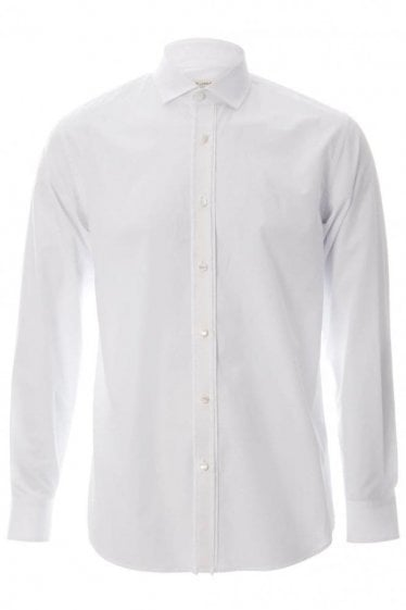 Marc Jacob Contrast Placket Slim Fit Shirt White