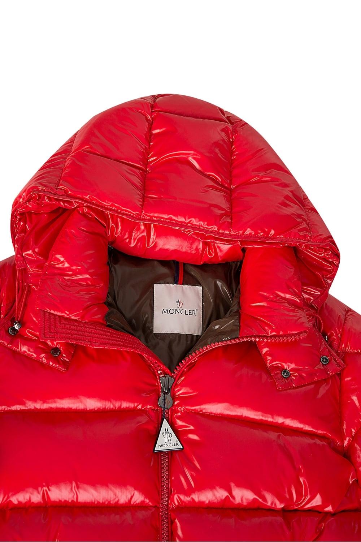 Moncler Moncler Maya Puffer Jacket Red Moncler From