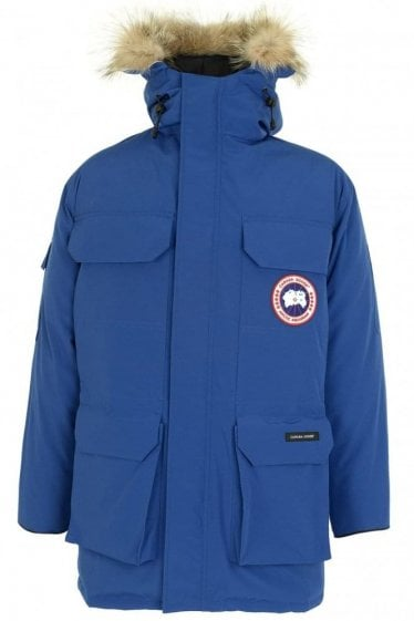 Canada Goose Men's Expedition Parka Blue