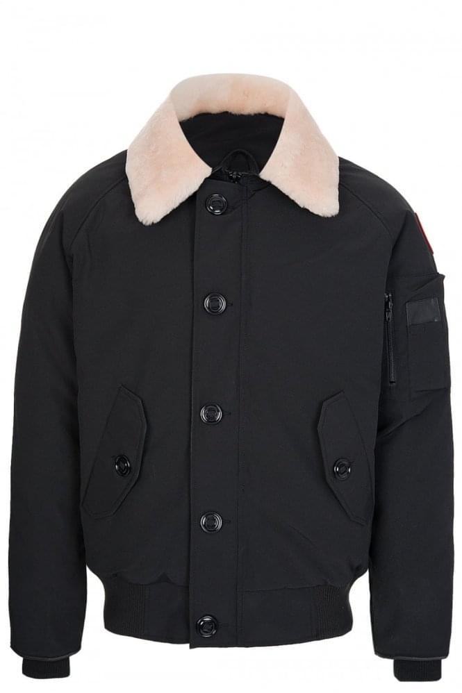 canada goose brown foxe bomber jacket