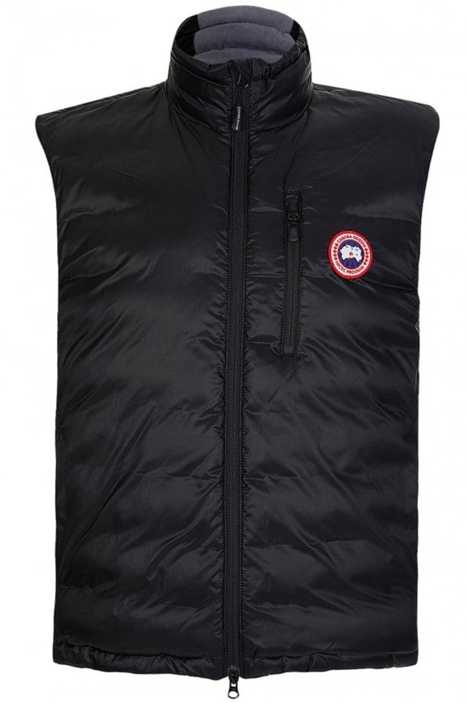 CANADA GOOSE Men's Lodge Gilet Black
