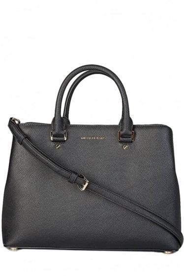 Michael Kors Savannah Satchel Black
