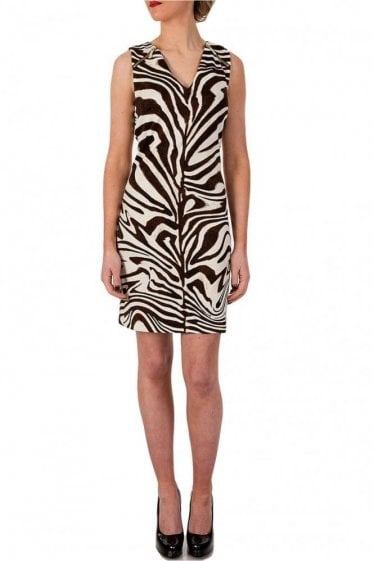 Michael Kors Sleeve Raglan Zip Dress