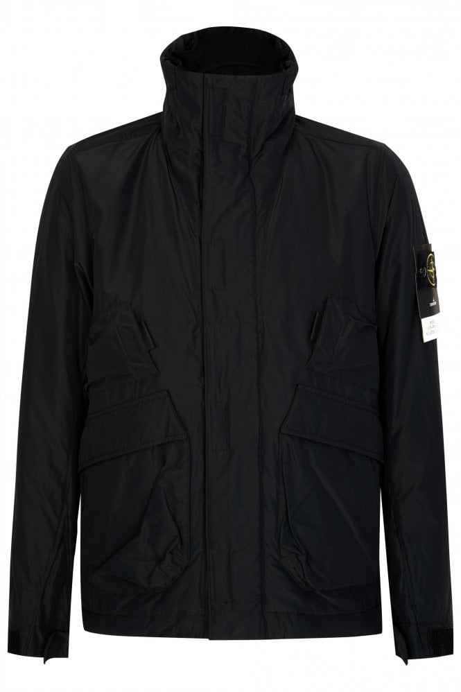 Stone Island Micro Reps Jacket Black