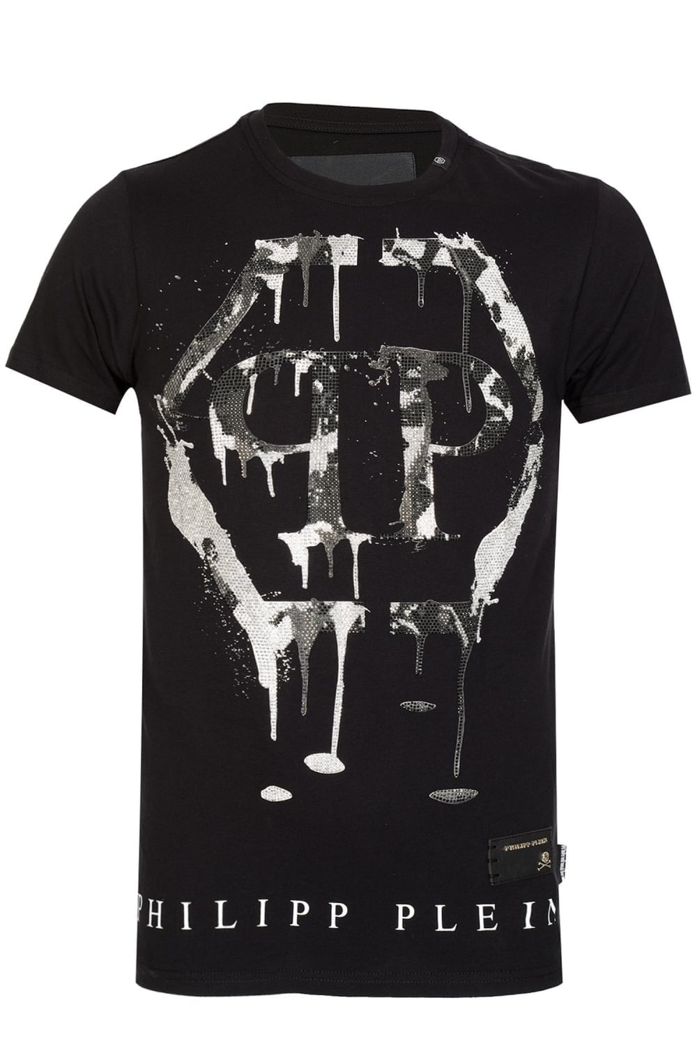 754dcaaf253 PHILIPP PLEIN Mind Hex Logo T-shirt Black - Clothing from Circle Fashion UK