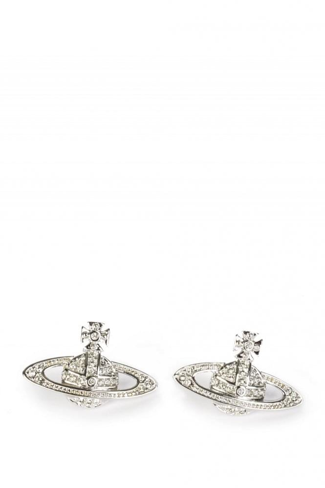 VIVIENNE WESTWOOD MINI BASS RELIEF EARRINGS