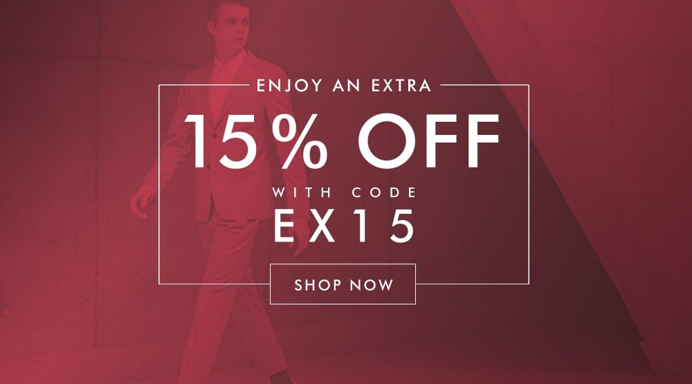 Extra 15% Off Sale Items
