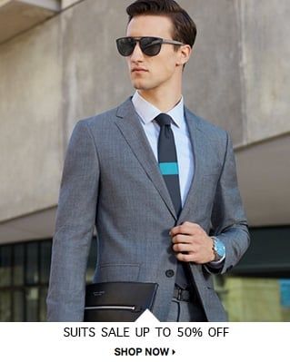 Suits Sale Up to 50% off