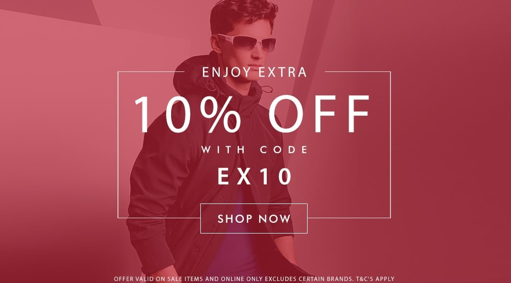 Enjoy Extra 10% Off Sale Items
