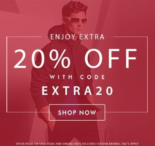 Sale Extra 20% Off Sale Items