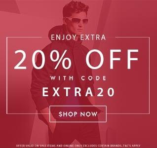 Sale Extra 20% Off Sale Items