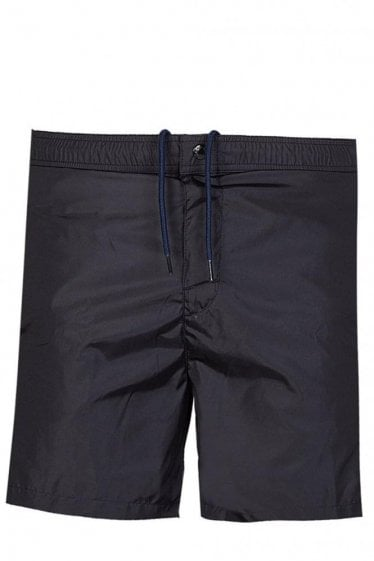 MONCLER BACK POCKET STRIPE SWIMWEAR SHORTS