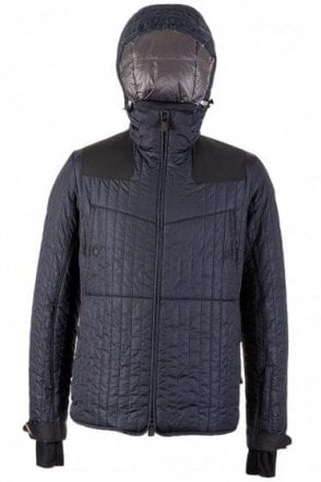 Moncler Chamlang Down Jacket Navy