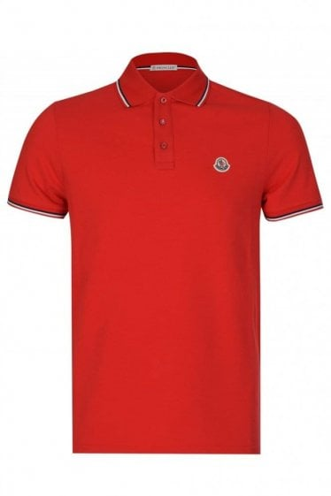 Moncler Classic Polo Red
