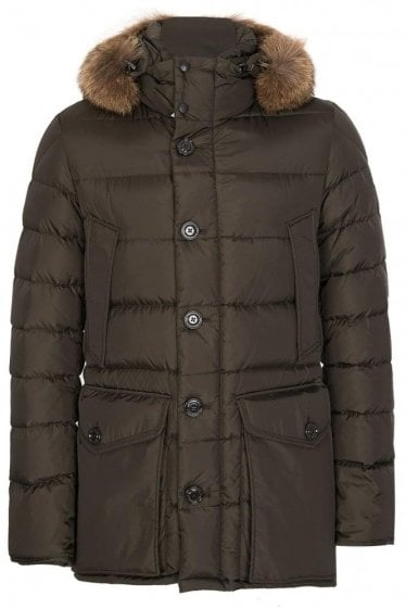Moncler Cluny Jacket Green