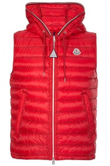 MONCLER CYRIAQUE HOODED GILET