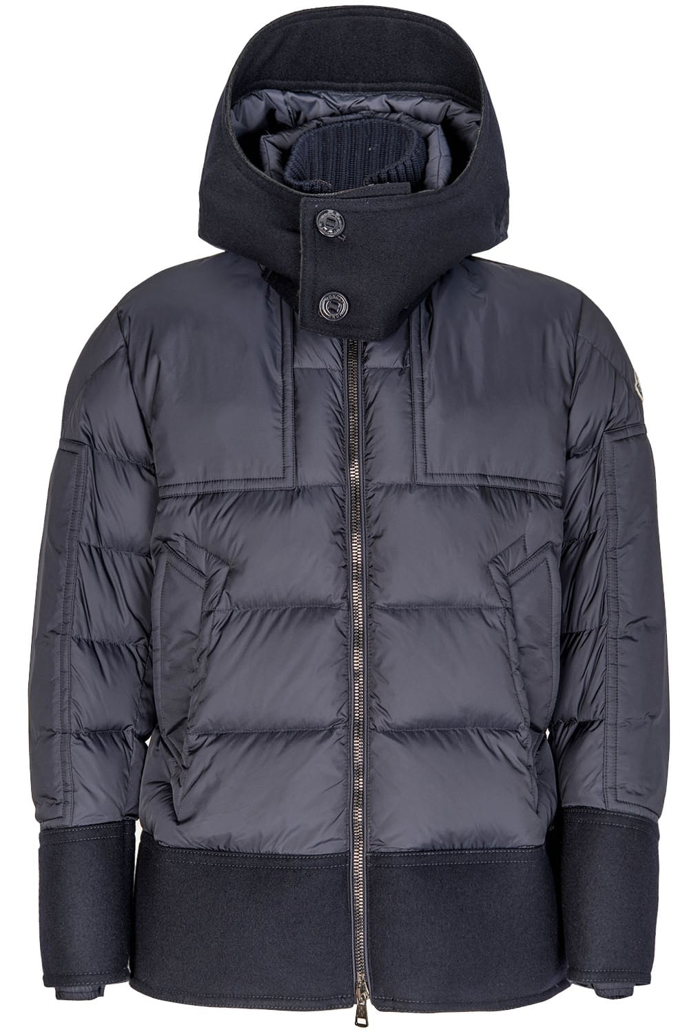 Moncler Dominique Quilted Down Jacket Navy