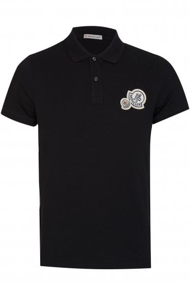 Moncler Double Logo Polo Shirt